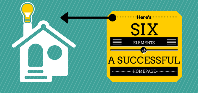 6 elements of a successful home page